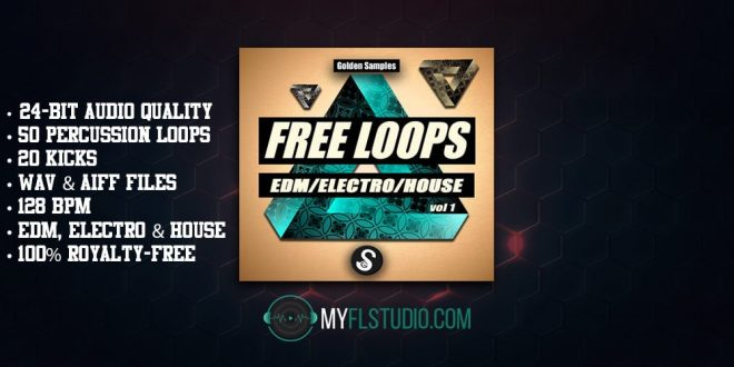 FL studio sample. free Loops Vol 1