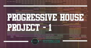Progrssive house project - fl studio